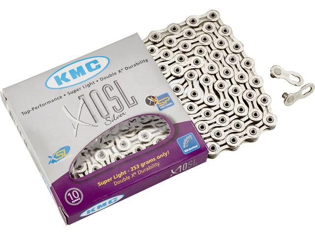 KMC X-10 SL Kette silver